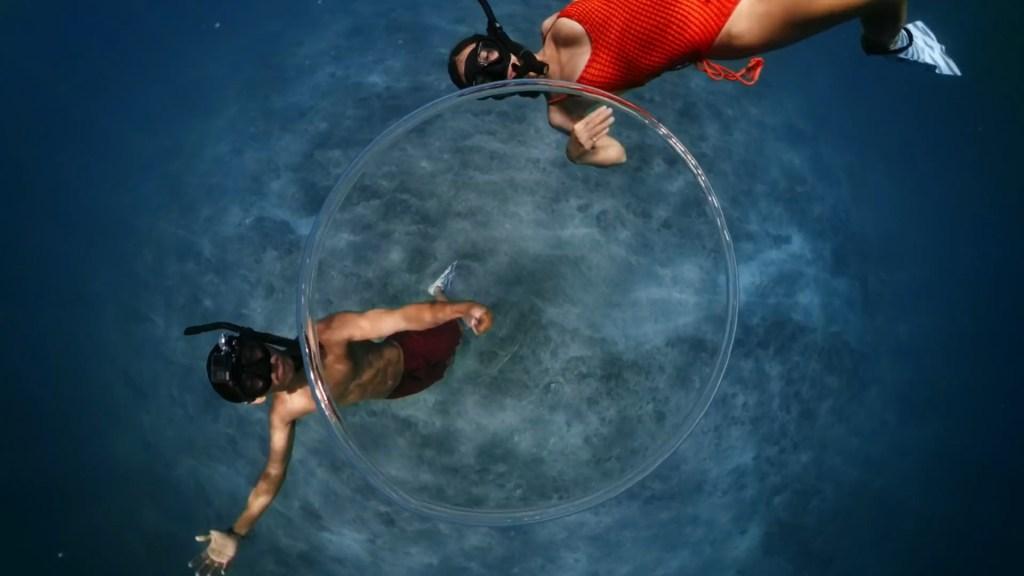 GoPro MAX can stitch smoothly underwater