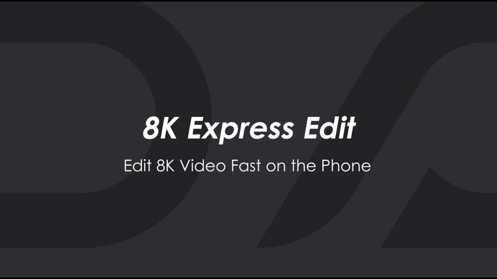 Qoocam 8K adds 8K mobile editing and 4K live steraming