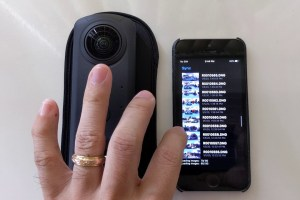 How to stitch Ricoh Theta Z1 Raw DNG on your iPhone