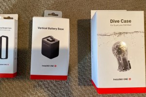 Insta360 One R dive case unboxing