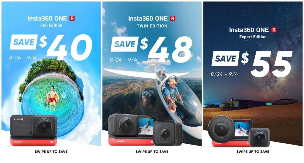 Insta360 discount: End of Summer Sale