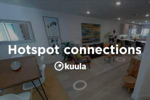 How to add hotspots to virtual tours quickly on Kuula