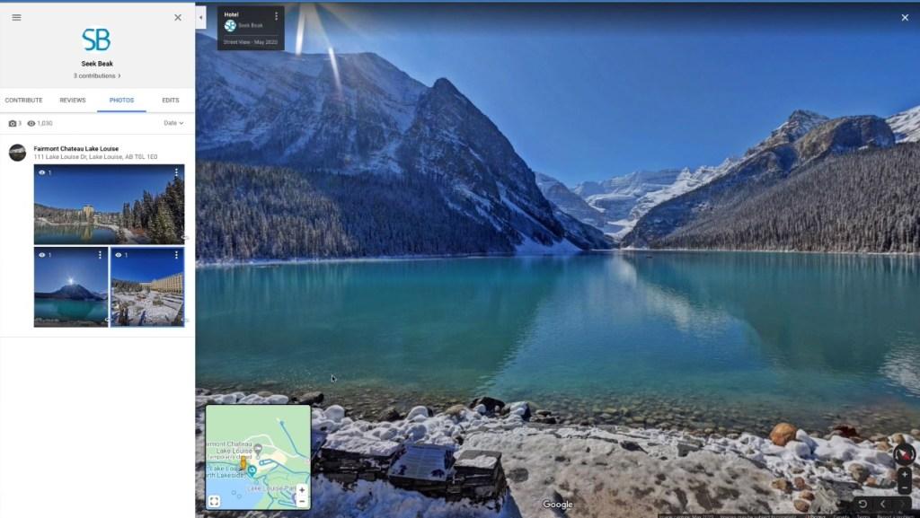 Create Google Street View virtual tours with SeekBeak