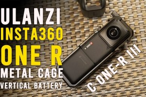 Insta360 One R vertical battery cage