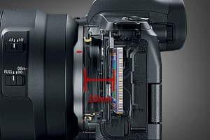 Canon EOS R mirrorless fisheye lenses