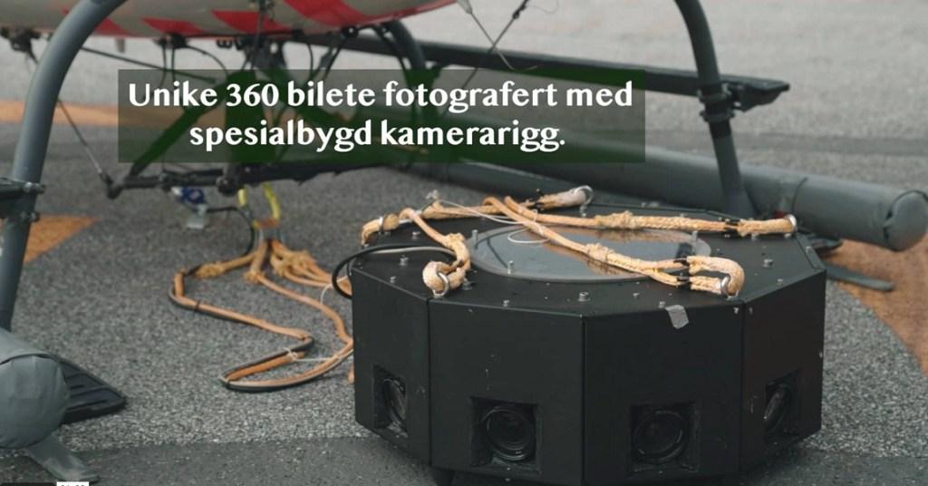 Hasselblad medium format rig with eleven cameras