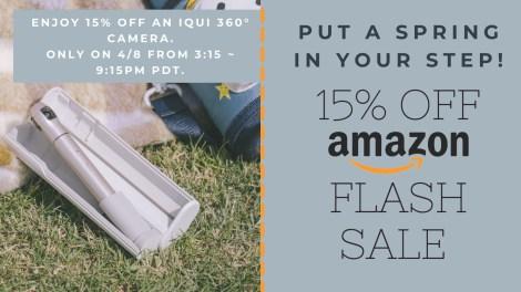 IQUI selfie camera Flash Sale