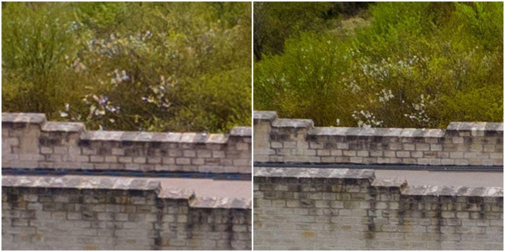 Left: Mavic Air 2. Right: Air 2S