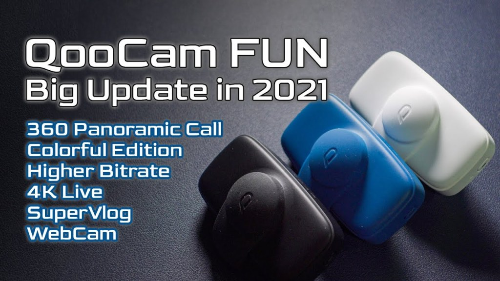 Free 360 video calling with Qoocam Fun