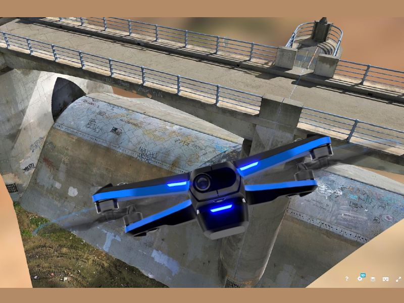 Skydio 2 3D Scan can capture 3D models with photogrammetry automatically