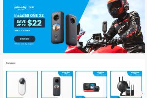 Amazon Prime Day 2021 - Best deals for 360 cameras and accessories