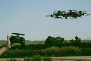 Hawk21 is an invisible 360 camera drone that can fly with GPS stabilization - no FPV flying skills required