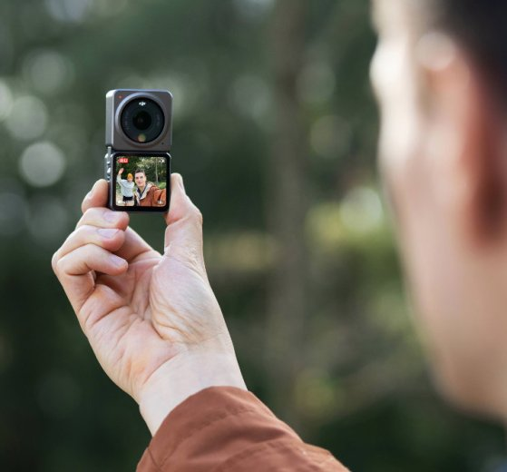 DJI Action 2 is a compact modular action cam