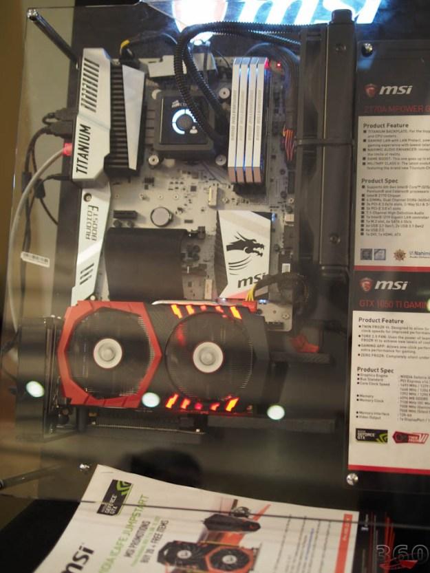 MSI's Twin Frozr equipped GTX 1050 Ti