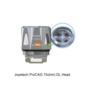 Joyetech ProC4 DL Head 0.15ohm
