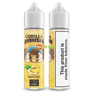 Gorilla Custard Banana 60ml