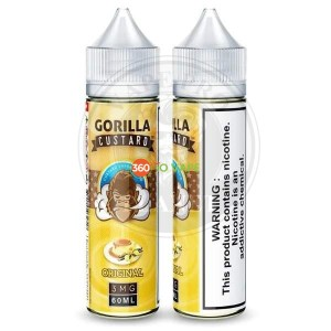 Gorilla Custard Strawberry By E&B, 60ml, 3mg