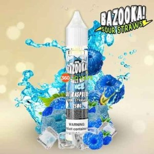 Blue Raspberry Ice Salt by Bazooka