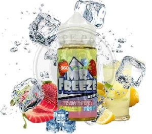 Strawberry Lemonade by Mr Freeze