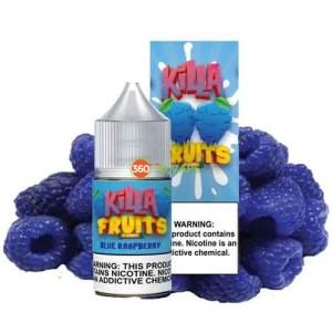 Killa Fruits - Blue Raspberry Salt - 30ml