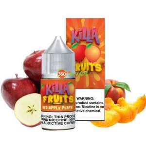 Killa Fruits - Red Apple Peach Salt - 30ml