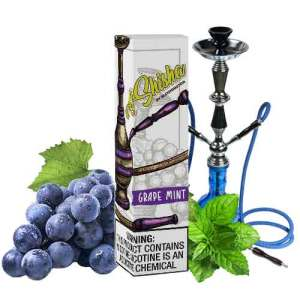 Al Shisha Saltnic Grape Mint