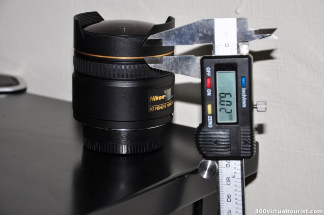 nikkor 10.5mm measuring