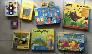 Ma sélection de jeux de société pour les 3-5 ans