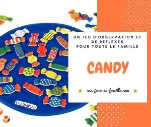 Candy : un jeu d'observation et de rapidité