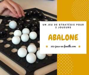 Abalone : un jeu de stratégie à 2 joueurs
