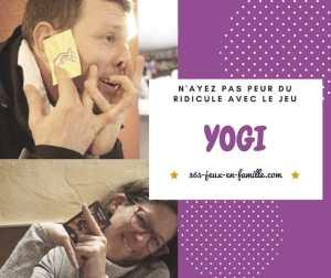 N'ayez pas peur du ridicule avec le jeu Yogi !