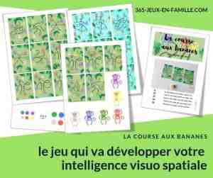 La course aux bananes, le jeu qui va développer votre intelligence visuo spatiale
