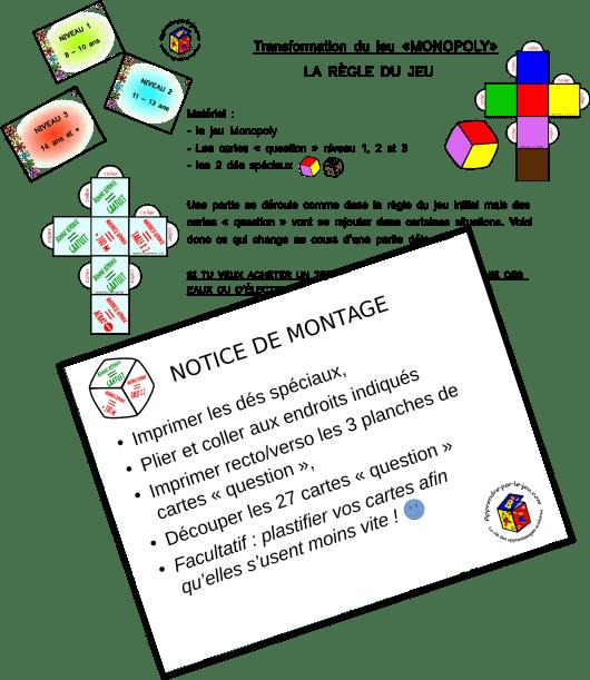 Le Monopoly Détourné : un jeu éducatif