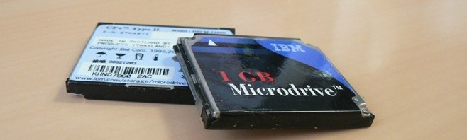 30.10.2010 IBM Microdrive