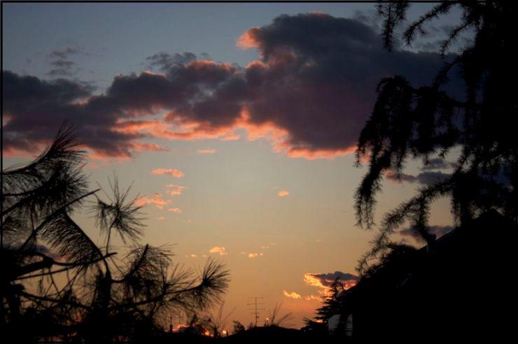 Nubi e colori al termine di un periodo un po' grigio