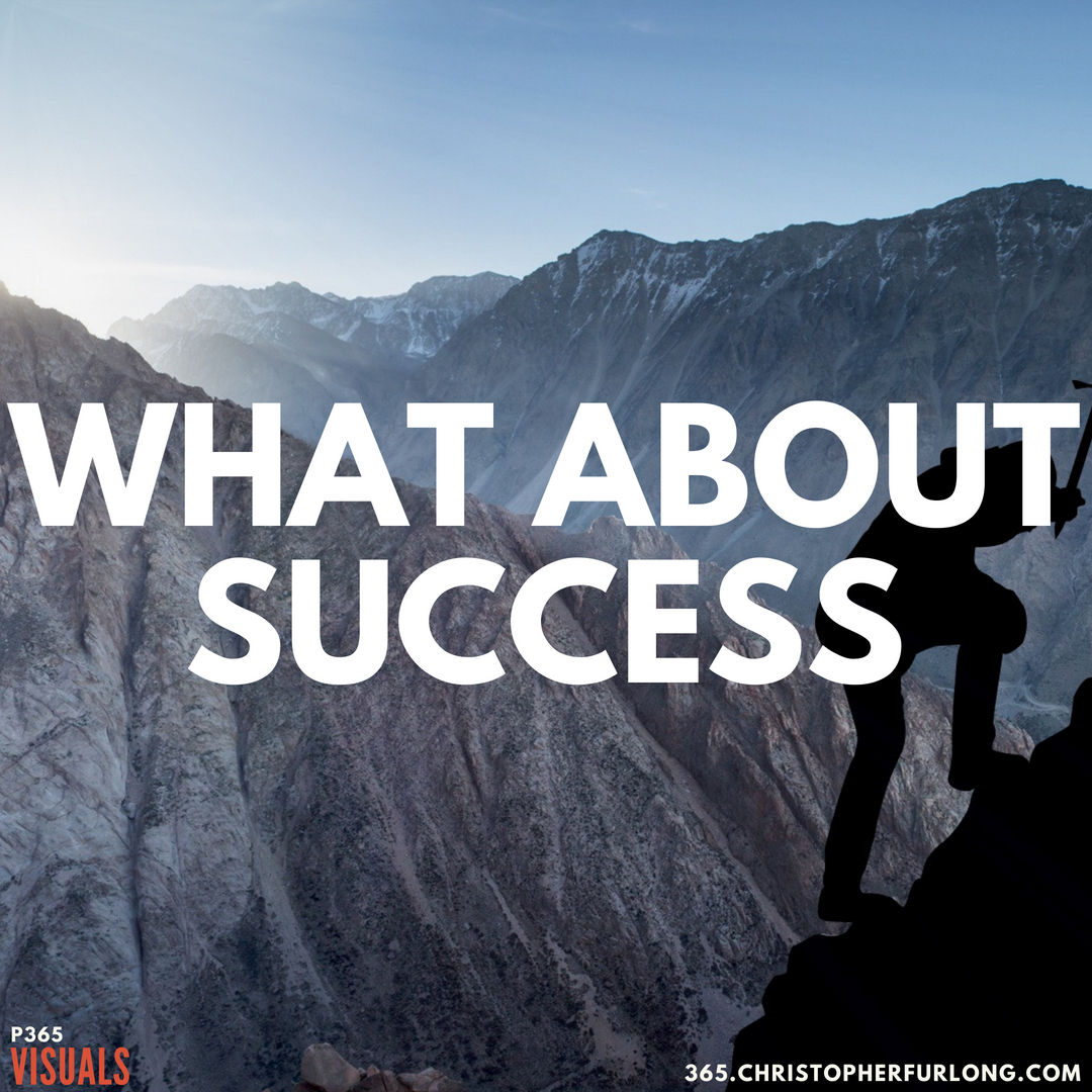 P365 2018: Day #193: What About Success?