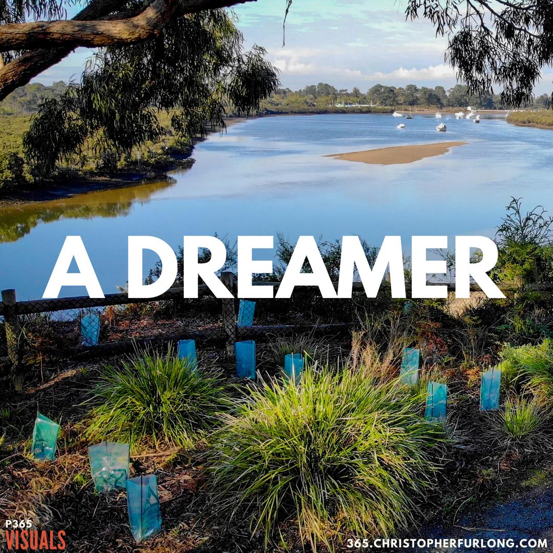 P365 2018: Day #209: A Dreamer