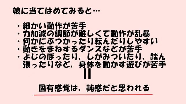 固有感覚について(2)