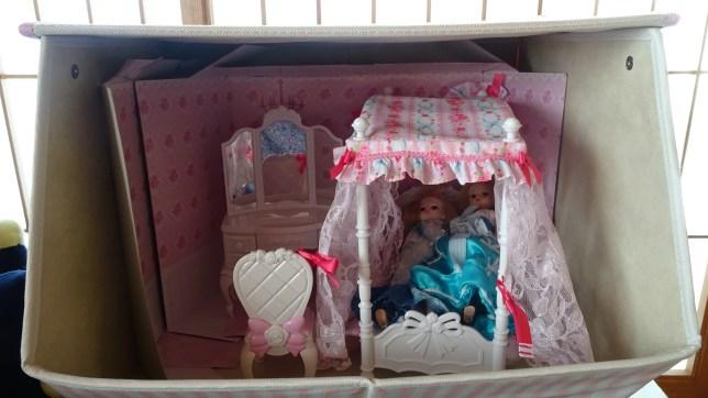 我が家オリジナルのリカちゃんのお部屋(1)
