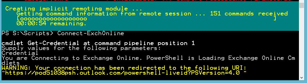 ... Connect To Office 365 Exchange Online With PowerShell. Summary