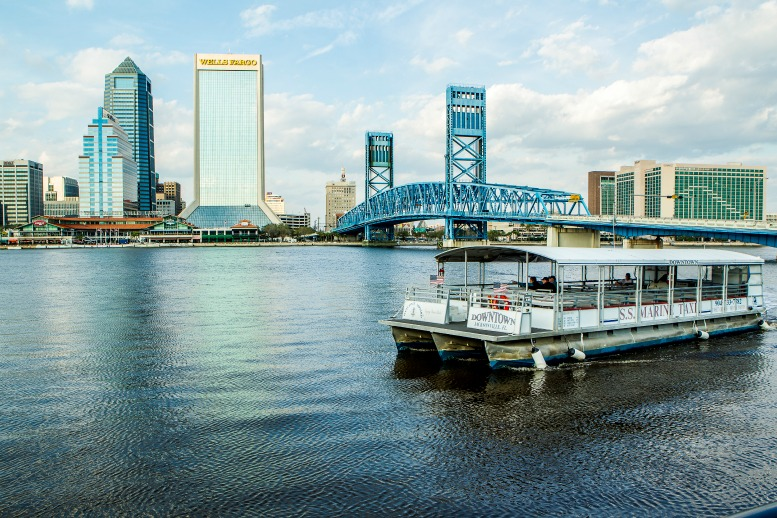 River Taxi Tour courtesy of Visit Jacksonville
