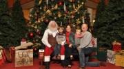 Santa at Phipps Plaza