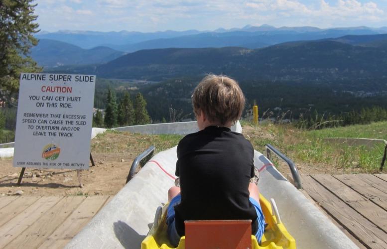 Peak 8 Fun Park at Breckenridge Ski Resort