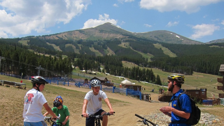Mountain Bike School at Breckenridge Ski Resort