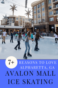 Avalon Mall Ice Skating