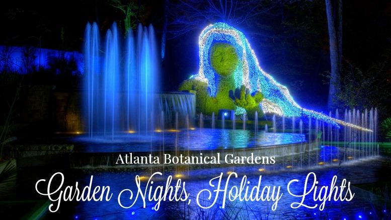 Atlanta Botanical Gardens Lights