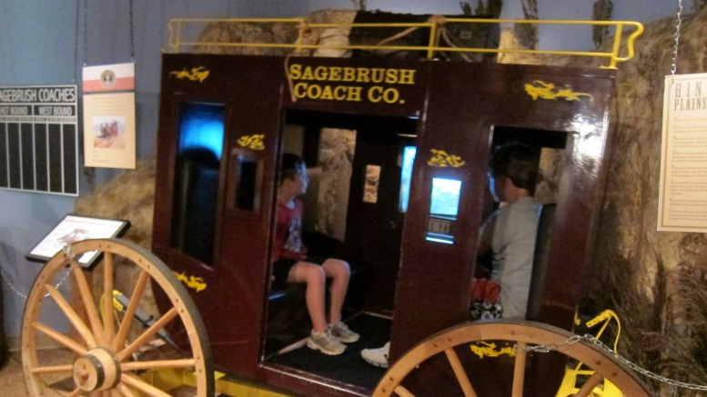 Sagebrush Ranch Stagecoach at the Booth Museum