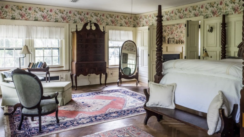 Rooms at the Greyfield Inn, Cumberland Island