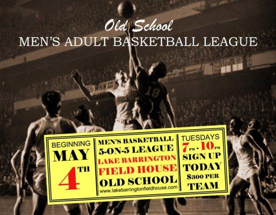 Men's Basketball at the Lake Barrington Field House