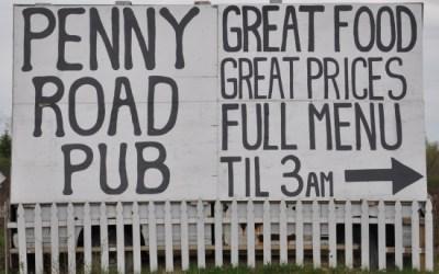 16.  Rock the Penny Road Pub